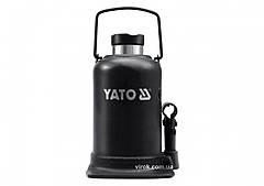 Домкрат гидравлический бутылочный YATO 15 т 231-498 мм