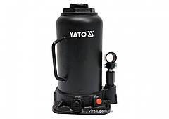 Домкрат гидравлический бутылочный YATO 20 т 242-452 мм YT-17007