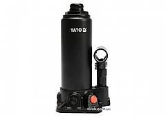 Домкрат гидравлический бутылочный YATO 3 т 194-374 мм YT-17001