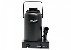 Домкрат гидравлический бутылочный YATO 32 т 285-465 мм YT-17008