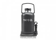 Домкрат гидравлический бутылочный YATO 10 т 220-483 мм YT-1704