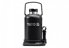 Домкрат гидравлический бутылочный YATO 5 т 212-468 мм YT-1702