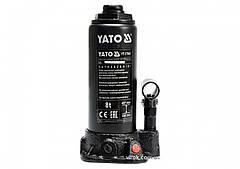 Домкрат гидравлический бутылочный YATO 8 т 230-457 мм YT-17003