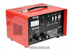 Зарядний прилад YATO 12/24V, 16А, 240Ah [2]
