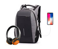 Рюкзак City Bag кодовый антивор, фото 1
