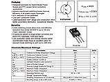 IRG4PC50W / G4PC50W TO-247AC - 600V 27A NPT IGBT транзистор Refurb, фото 6