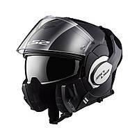 Шлем модуляр LS2 FF399 VALIANT Черный мат  Flip-Up  Matte Black + PINLOCK в Подарок