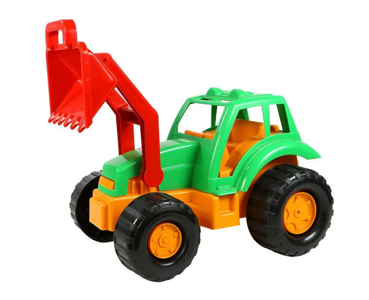 Трактор Великий 986 з ковшем Орион