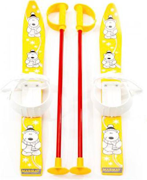 "Дитячі лижі ""KIDS SKI"", жовті, 6081ЖЕЛТ"