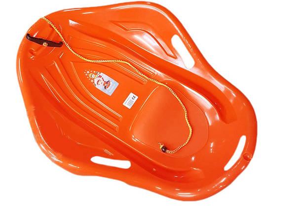 """Санки """"SLEDGE SHELL PREMIUM COMFORT"""", помаранчеві, 6197ОРАНЖ, фото 2"""