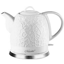 Чайник Maestro  белый 1л керамика (071 MR)