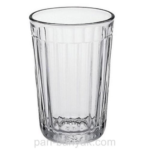 Стакан высокий Гусь Хрустальний Граненый 250мл d7,4 см h11 см стекло (03с785)