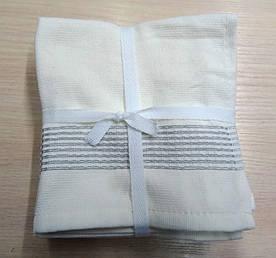 ТМ TAG Набор полотенец 30*30 (6шт) Полоса