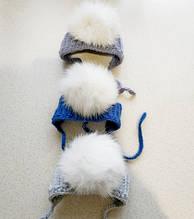 Шапочки для собак мелких пород 6454 Размер S-M