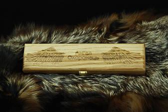 Светлый подарочный футляр для ножа, из дерева, фото 2