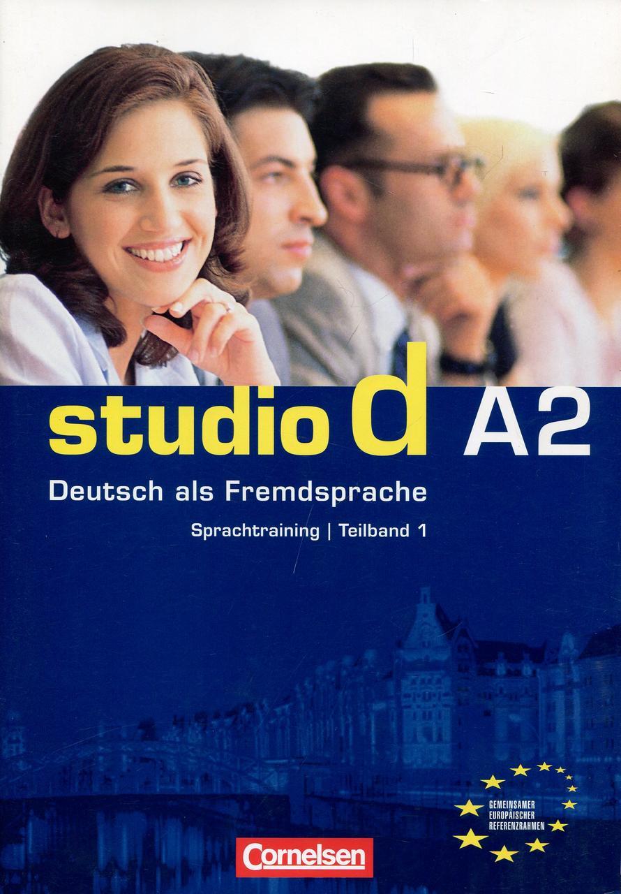 Studio D in Teilbanden: Sprachtraining A2 (Einheit 1-6) (German Edition)
