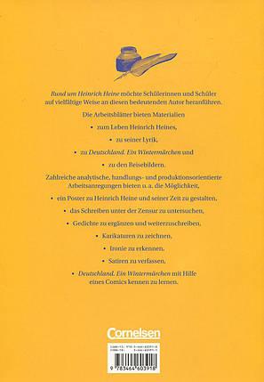 Rund um Heinrich Heine: Kopiervorlagen für den Deutschunterricht, фото 2