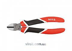 Кусачки боковые YATO CrV l=180 мм