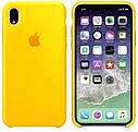 Чехол (Silicone Case) для iPhone XR Yellow, фото 2