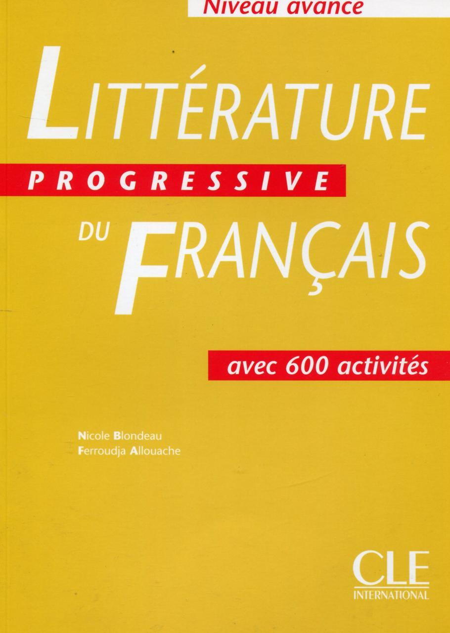 Littérature Progressive du français - Livre de l'élève