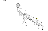 "Диск тормозной передний R13"" Ланос Сенс, Lanos Sens, tf69y0-3501070-03, фото 5"