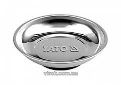 Миска з магнітним дном YATO, Ø=150мм [12/48] YT-0830