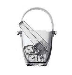 Ведро Pasabahce Sylvana 830 мл d12 см h13 см для хранения льда из стекла (53628)