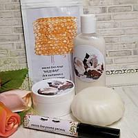 Набор для ухода за лицом и телом с маслом макадамии и кокосовым молочком