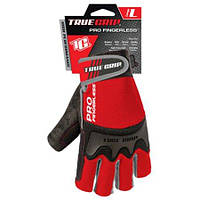 Перчатки без пальцев размер L