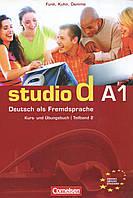 Studio d A1. Deutsch als Fremdsprache. Kurs- und Ubungsbuch. Teilband 2 (+ CD)