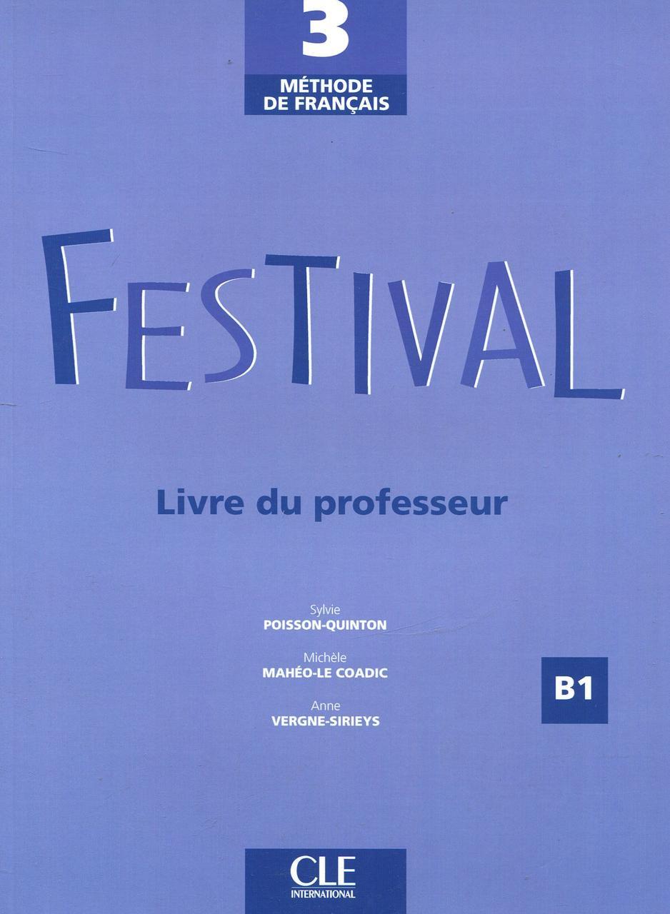 Festival 3 - Livre du professeur
