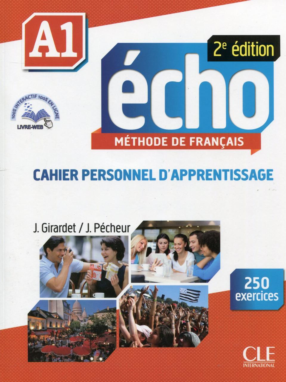 Echo A1 - Cahier d'exercices (+ CD audio)