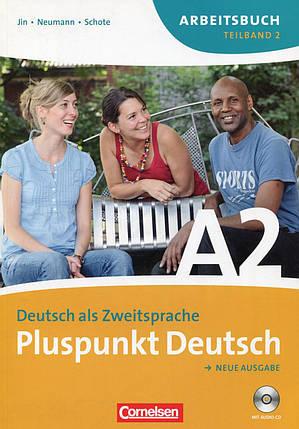 Pluspunkt Deutsch. Neue Ausgabe. Teilband 2. Arbeitsbuch (+ CD), фото 2