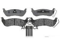 Колодки тормозные задние, дисковые FORD 4W1Z2200AA