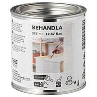 IKEA BEHANDLA Морилка для дерева, белая (103.290.54)
