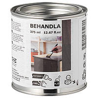 IKEA BEHANDLA Морилка для дерева, черная (403.290.57)