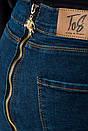 Джинсы женские 282F009 цвет Синий, фото 3