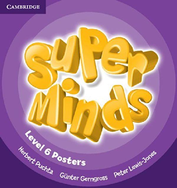 Super Minds 6. Posters 10 pcs