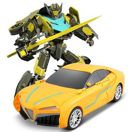 """Машина-трансформер """"Автобот-боксер"""", на р/у, свет, звук, TT686, фото 2"""