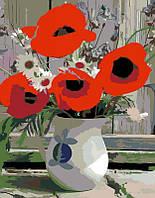 """Набір-стандарт, картина за номерами, """"Польові квіти"""", 35х45см, ROSA START"""