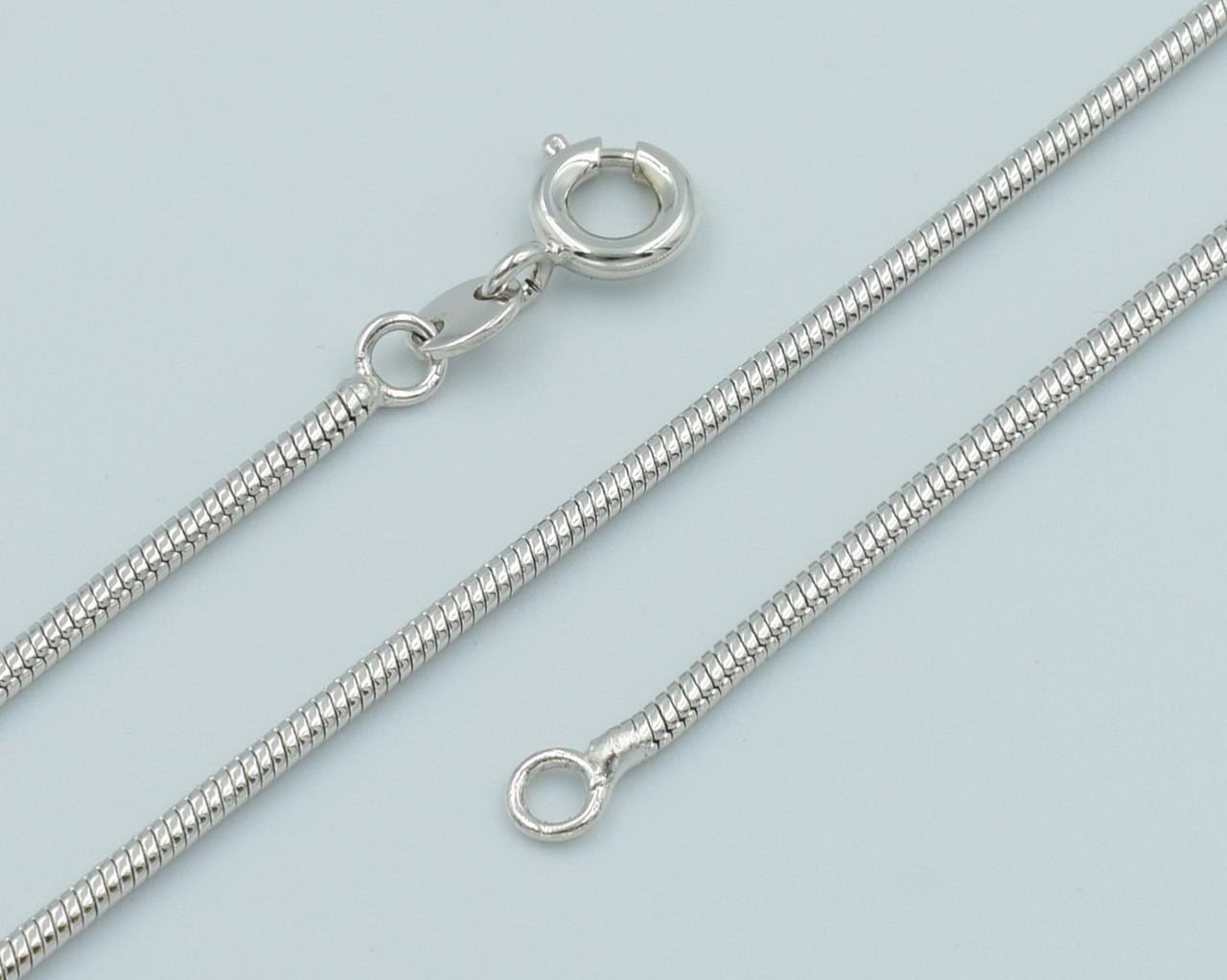 XUPING Цепочка Родий мягкий ювелирный шнур Длина 60см Ширина 1мм