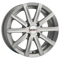 Литые диски Disla Baretta 405 W6 R14 PCD4x114.3 ET37 DIA69.1 silver