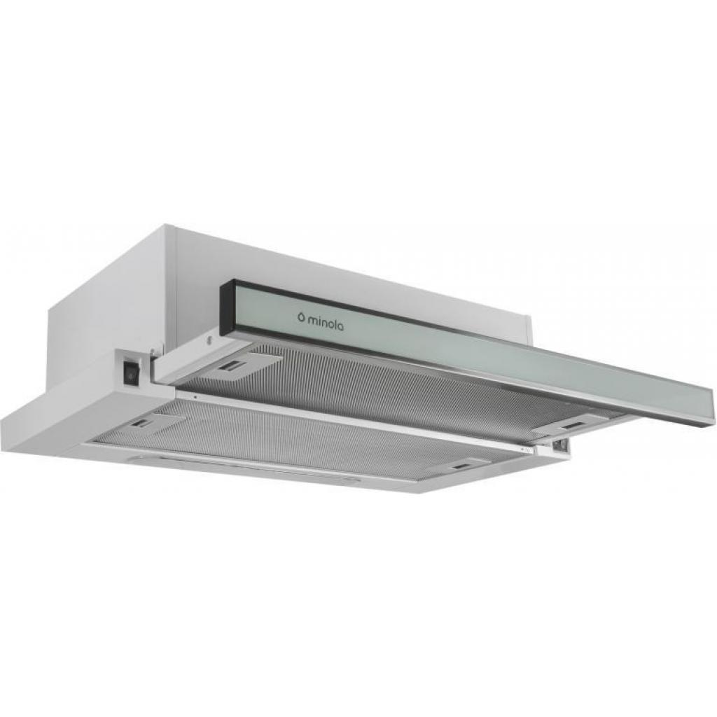 Вытяжка кухонная MINOLA HTL 6160 I/ WH GLASS 630