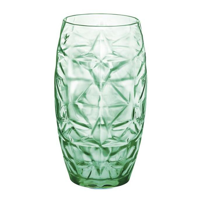 Стакан высокий BormioliRocco Rocco Oriente зеленая 470мл стекло (320266 BR зелена)