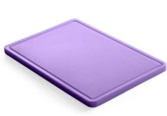 Доска кухонная Hendi НАССР фиолетовая 1/2 32,5х26,5 см h1,2 см пластик (826164)