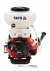 Оприскувач ранцевий YATO з бензин. двигуном 2,13 кВт, 41,5 см³, рідинною ємністю- 16 л