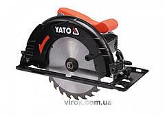 Пила дисковая YATO 1300 Вт диск 190 мм YT-82150