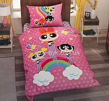 Детское постельное белье Tac Disney Power puff girls (односпальное)