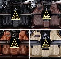 Коврики в салон BMW X5 F15 Кожаные 3D (2013-2018)