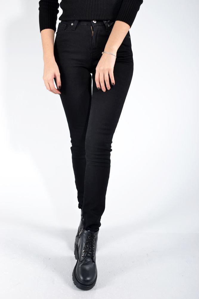 Джинсы женские 123R18652 цвет Черный